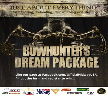 Bowhunter&#39;s Dream Package Sweepstakes