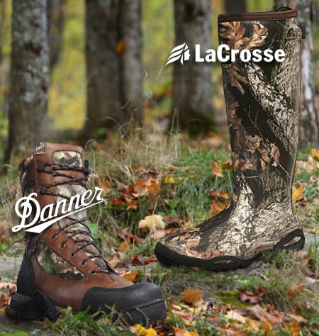 FREE SHIPPING on Danner and LaCrosse Boots