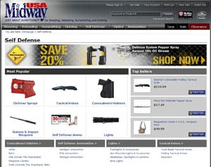 MidwayUSA  Self Defense Product Line