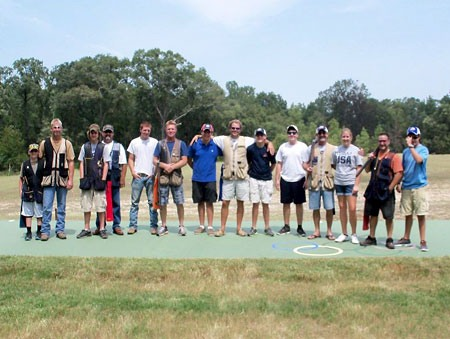 Bridge Creek Clays & South Georgia Youth Shooting Club Competitors