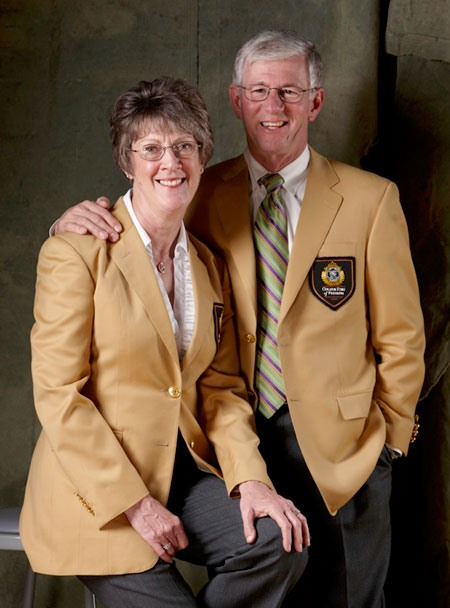 Founders of MidwayUSA Larry and Brenda Potterfield