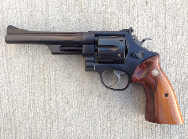 My favorite handgun for prairie dogs is this S&W Model 28.