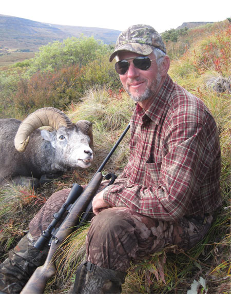 This twelve year old Stone sheep had very dark hair. Brenda also shot a nice sheep on this trip – SS # 17.