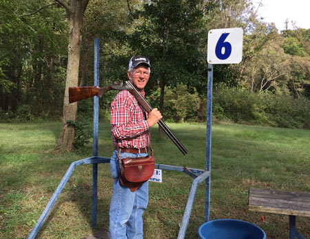 My favorite Clays courses are simply a walk around the farm,  with shooting stations in the woods and in the fields.