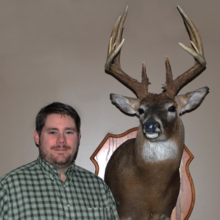 Will Hemeyer with a 2009 Missouri Whitetail taken in Ralls County, MO