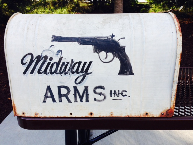 The Original Midway ARMS INC Mailbox