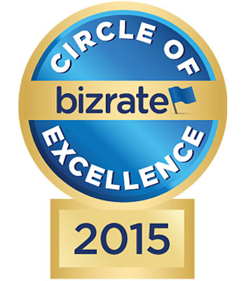 2015 Bizrate Circle of Excellence Award