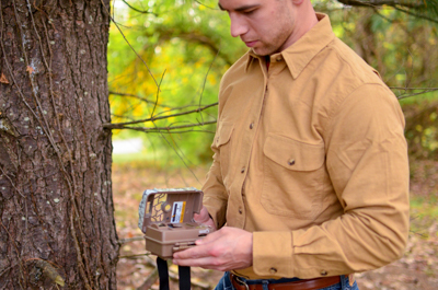 MidwayUSA Introduces MidwayUSA Men's Chamois Long Sleeve Shirt