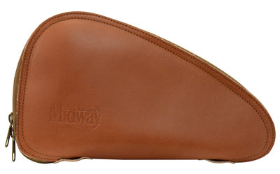 MidwayUSA Introduces MidwayUSA Deluxe Leather Pistol Case
