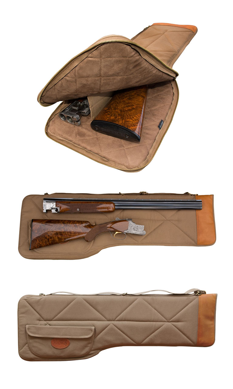 MidwayUSA Introduces MidwayUSA Deluxe Cotton Canvas Takedown Shotgun Case