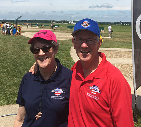 Larry and Brenda Potterfield at the 2016 SSSFoundation National Championships