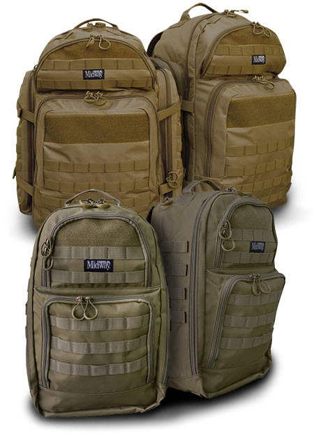 MidwayUSA Introduces MidwayUSA Alpha and Delta Tactical Backpacks