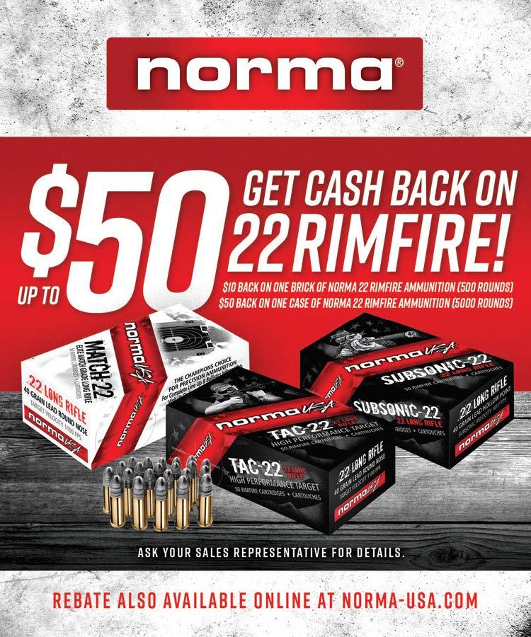 Get Cash Back on 22 Rimfire