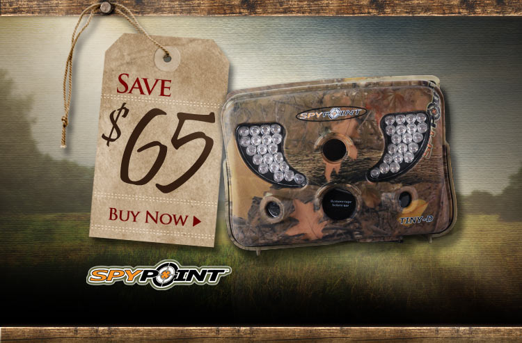 Spypoint Tiny-D 8.0 MP IR Game Camera - Save $65