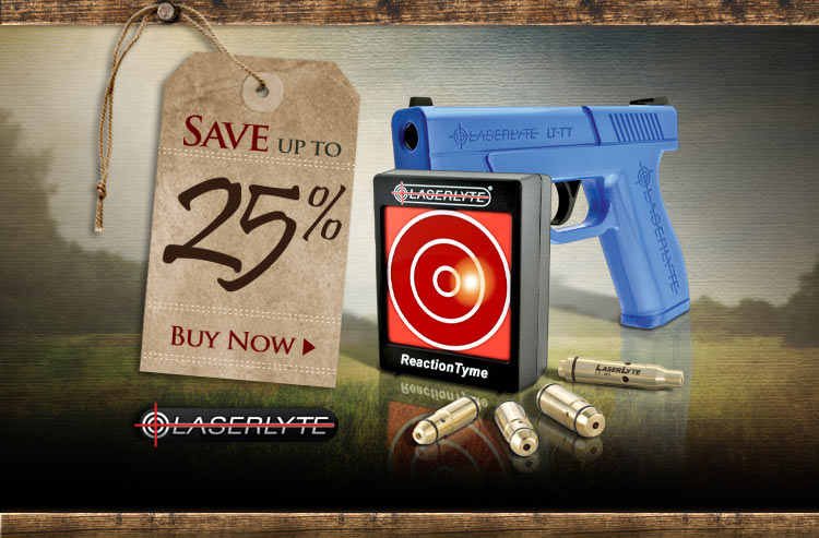 LaserLyte Reaction Target & Accessories Sale - Save up to 25%