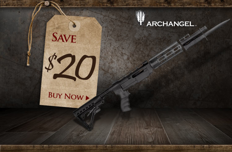 Archangel 5.56 Adjustable Ruger 10/22 Rifle Stock System - Save $20