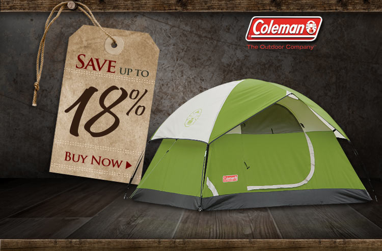 Coleman Sundome Dome Tent Sale - Save up to 18%