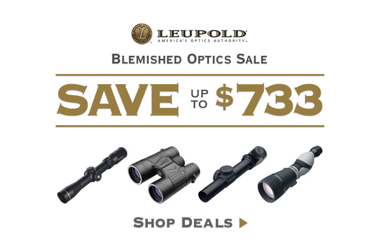Up to $733 Off on select Leupold Blemished Optics