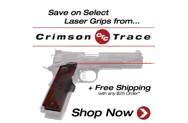Save on Crimson Trace Laser Grips