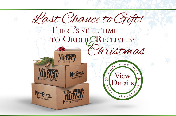 Last Chance to Gift! There's still time to order & receive by Christmas.