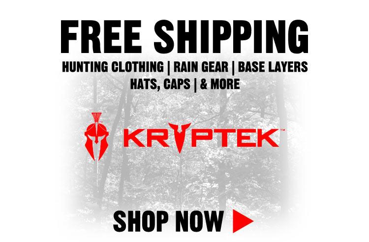 Free Shipping on Kryptek