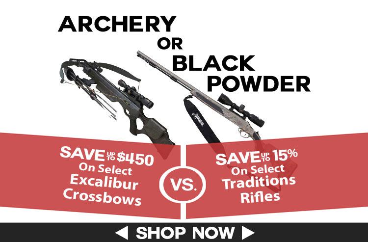 Archery vs Black Powder