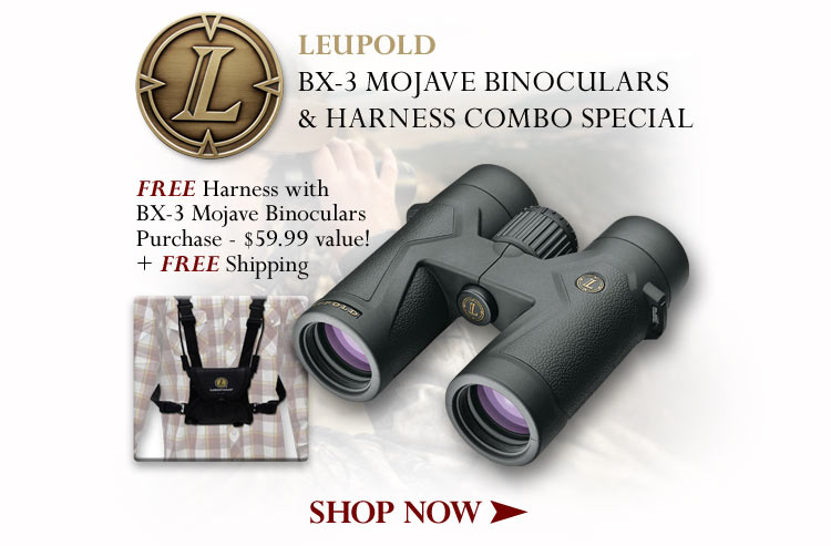 Leupold BX Binocular & Harness Combo Special - Shop Now