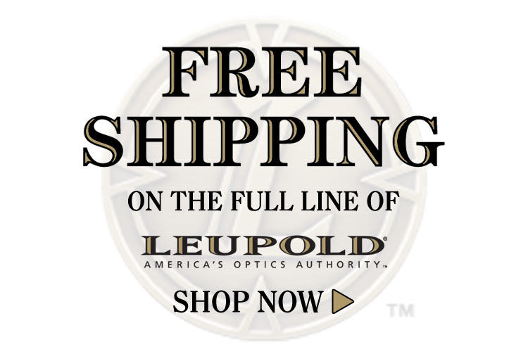 Free Shipping all Leupold Products