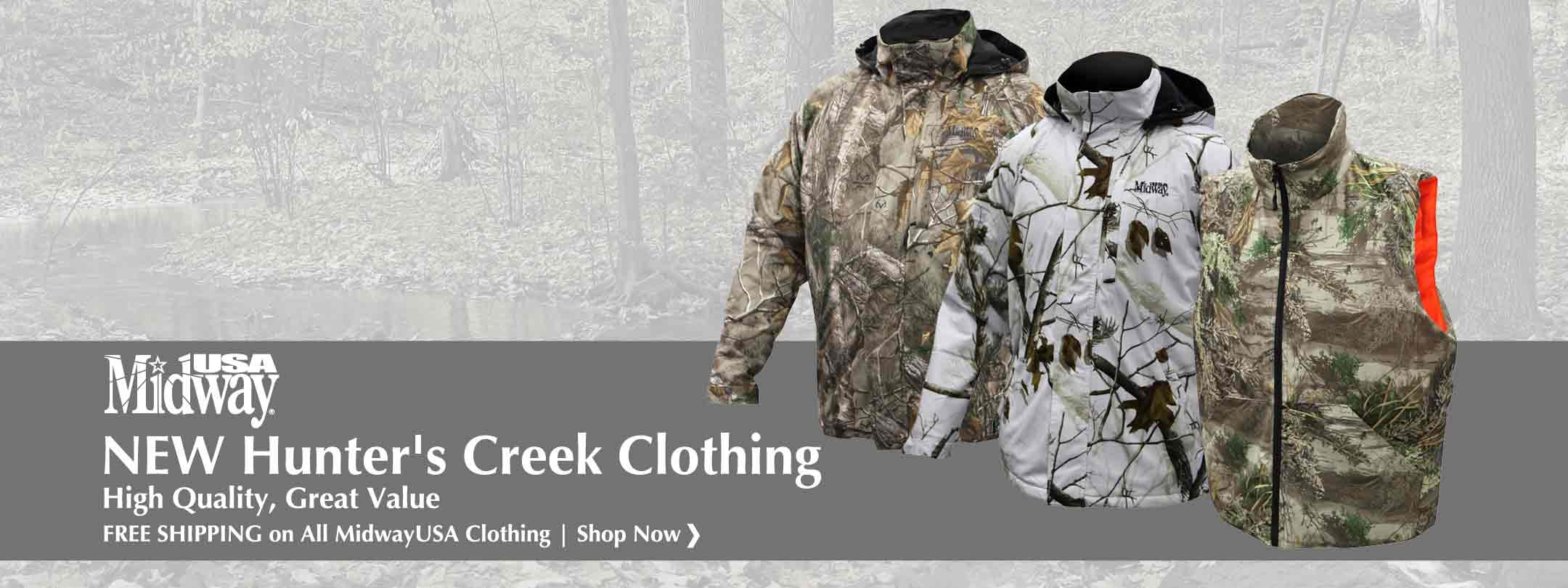 NEW Hunter's Creek Clothing: High Quality, Great Value
