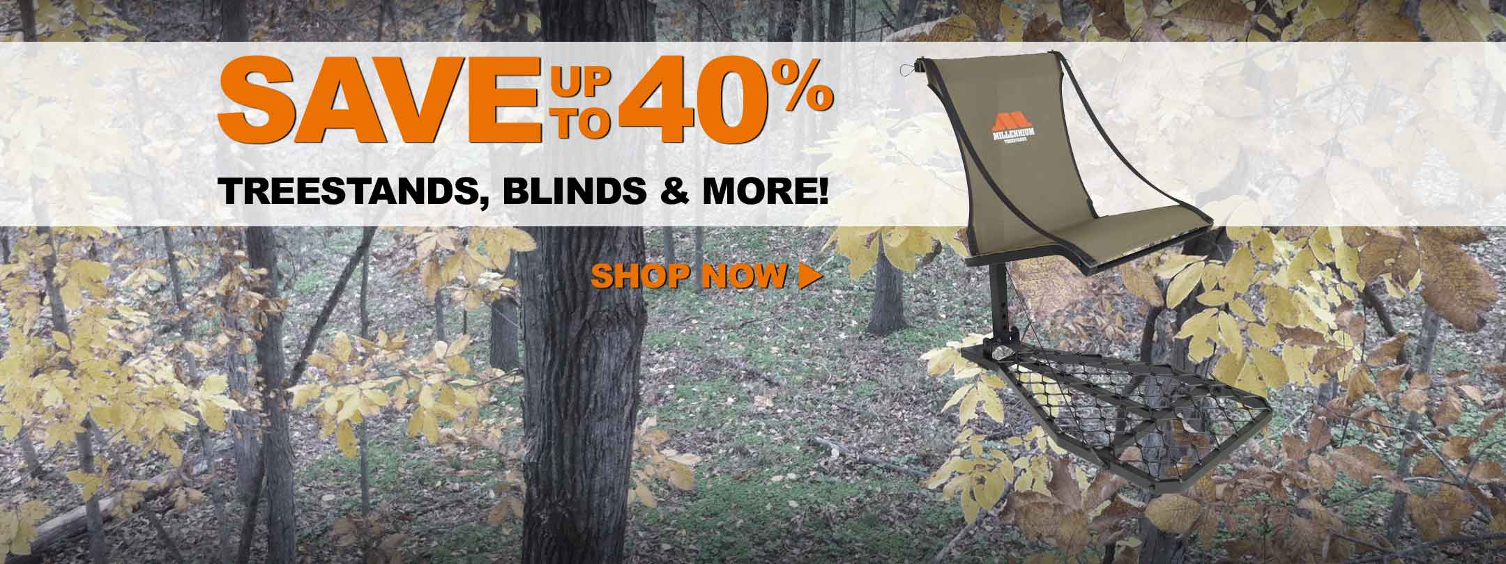 Get in the Hunt with Treestands & Blinds from Rivers Edge, Tree Spider, Summit, & More
