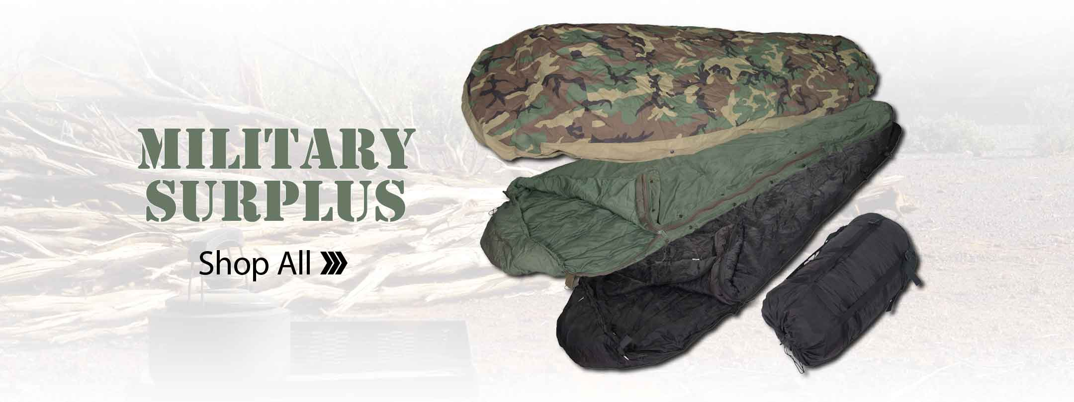 Shop All Military Surplus
