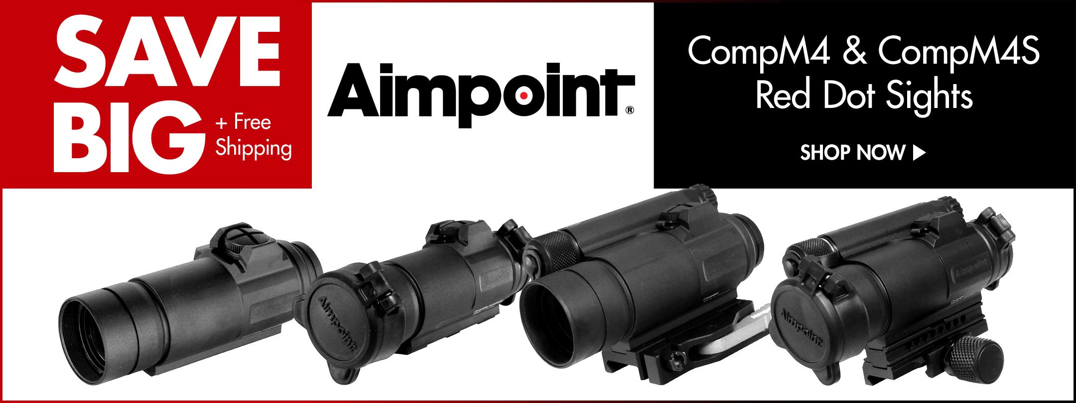 Save Big on Aimpoint Red Dot Sights