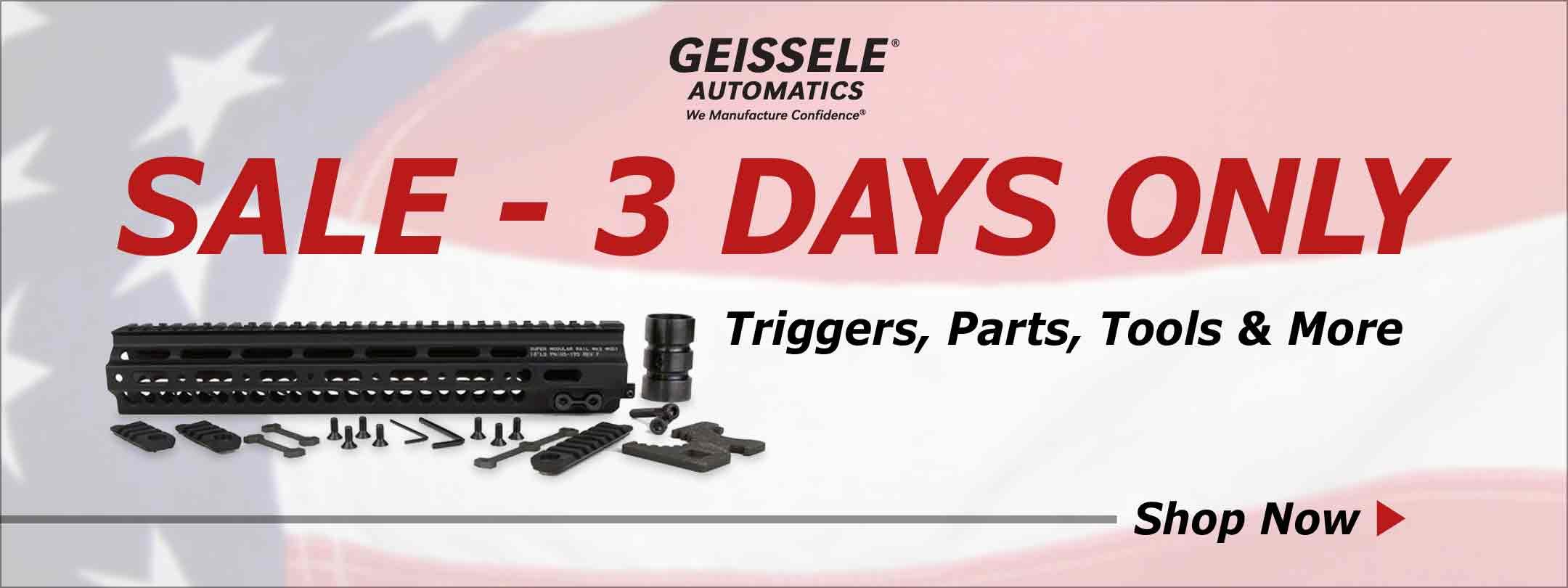 Only 3 Days to Save on Geissele