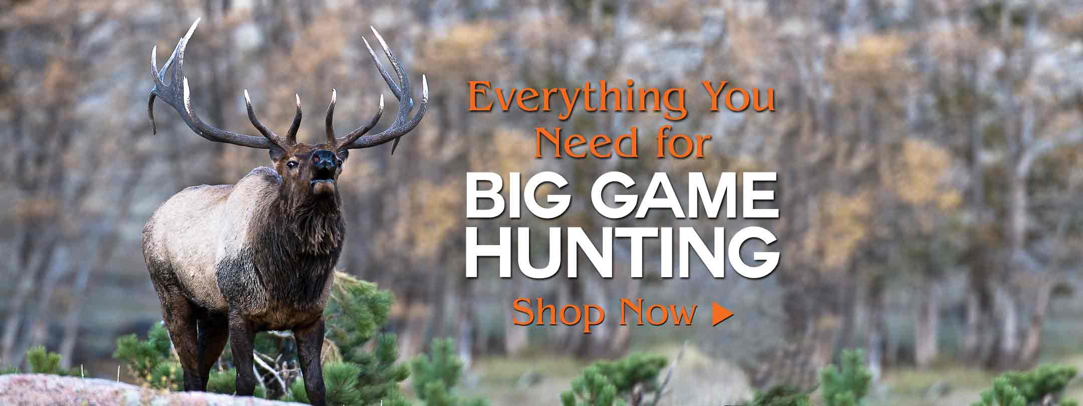 Everything You Need for Big Game Hunting