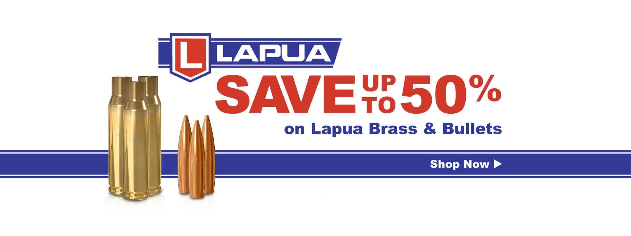 Lapua Brass & Bullets
