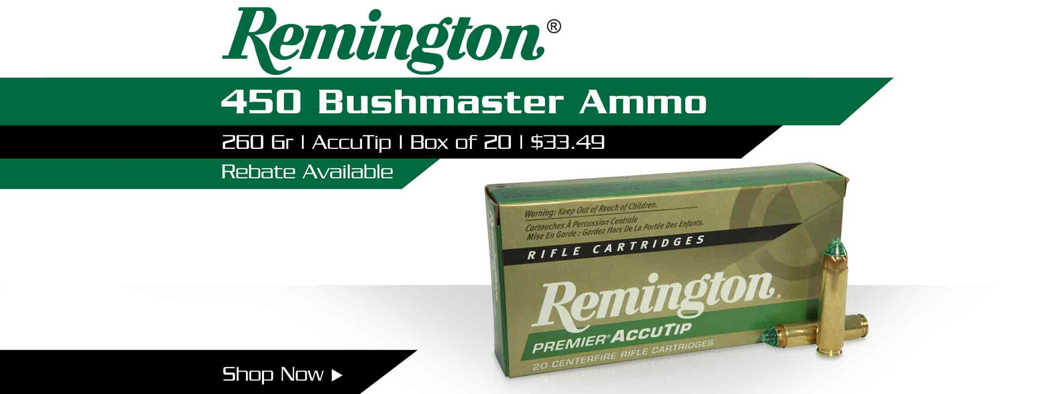 Remington 450 Bushmaster Ammo