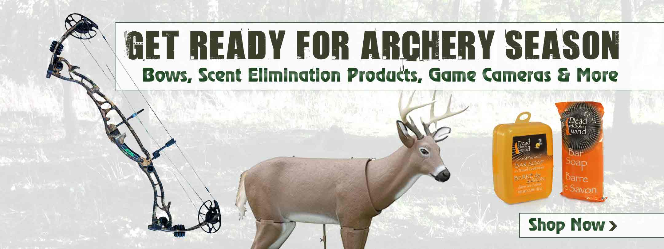 Get Ready for Archery Season