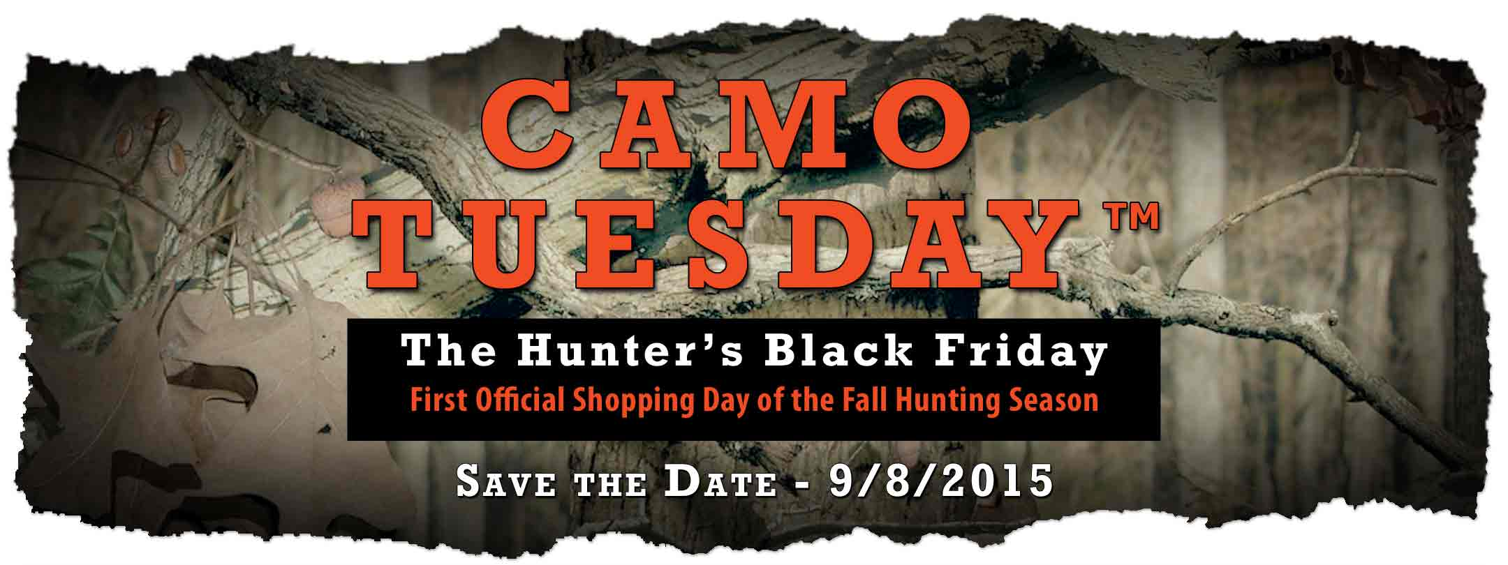 Camo Tuesday is just around the corner…