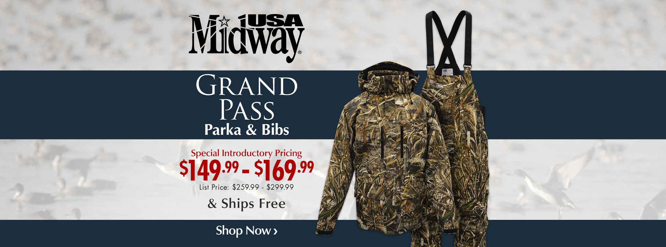 Now Available: MidwayUSA Grand Pass Parka & Bibs