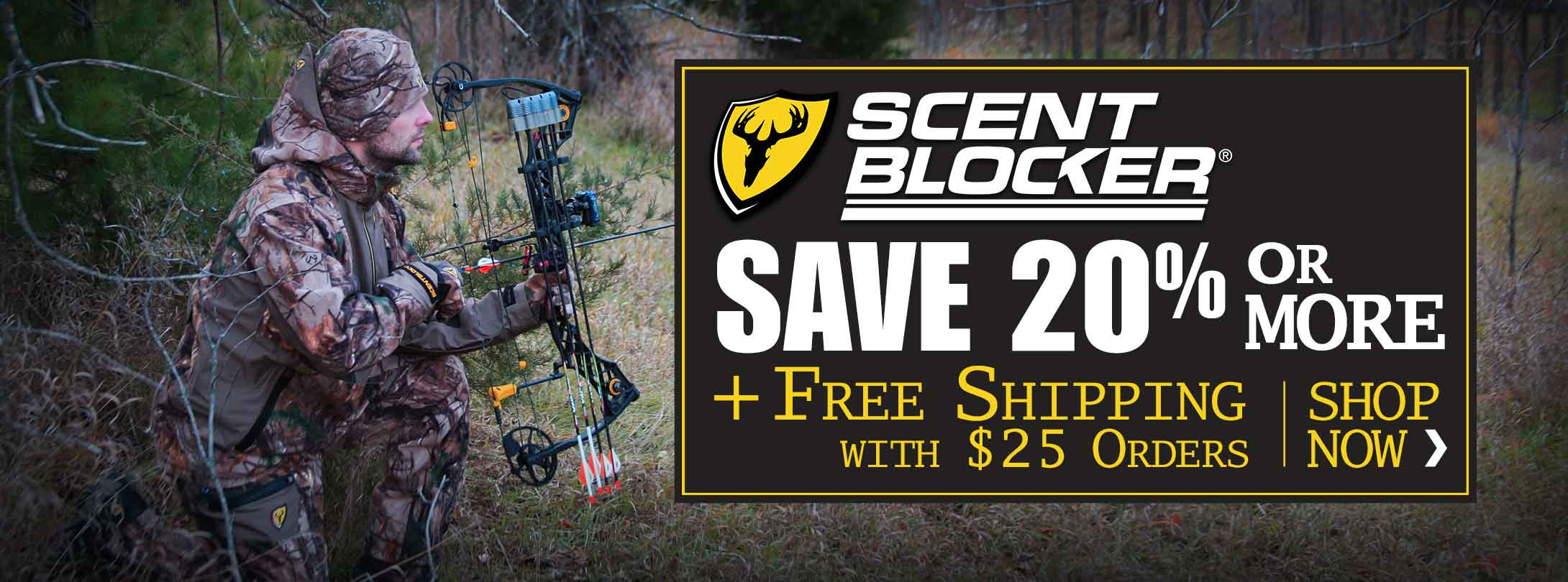 Save Over 20% + Free Shipping on ScentBlocker Jackets, Pants & More