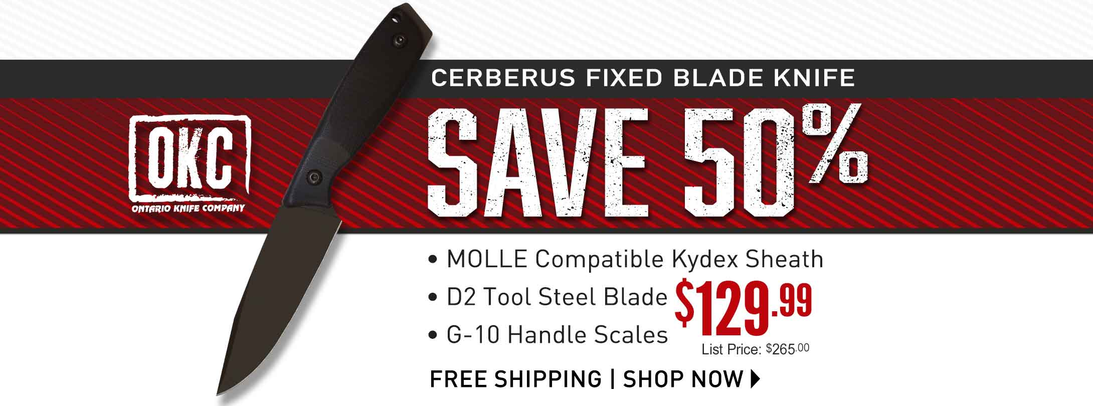 Ontario Cerberus Fixed Blade Knife