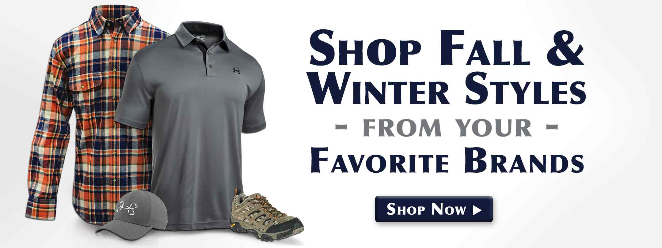 Shop Fall & Winter Styles from Your Favorite Brands