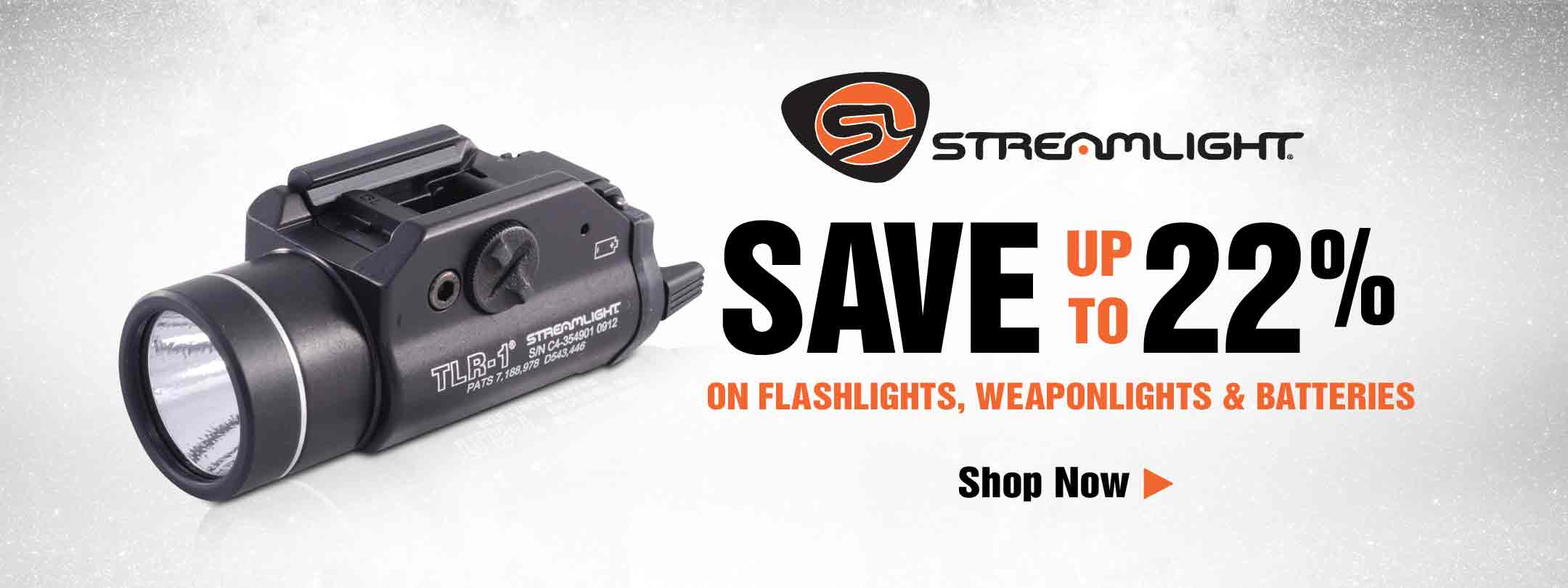 Save up to 22% on Streamlight