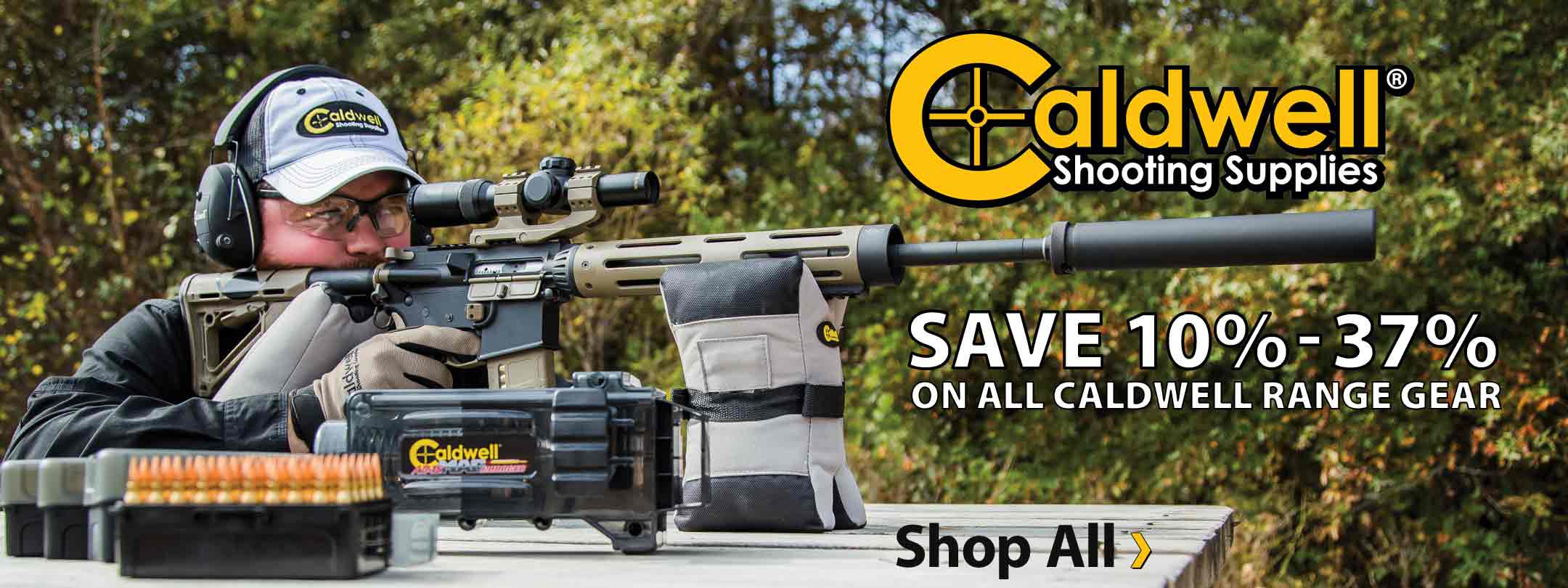 Save 10% - 37% on All Caldwell Range Gear