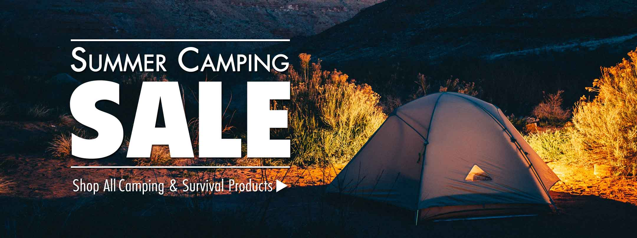 Summer Camping Sale - Save Now!