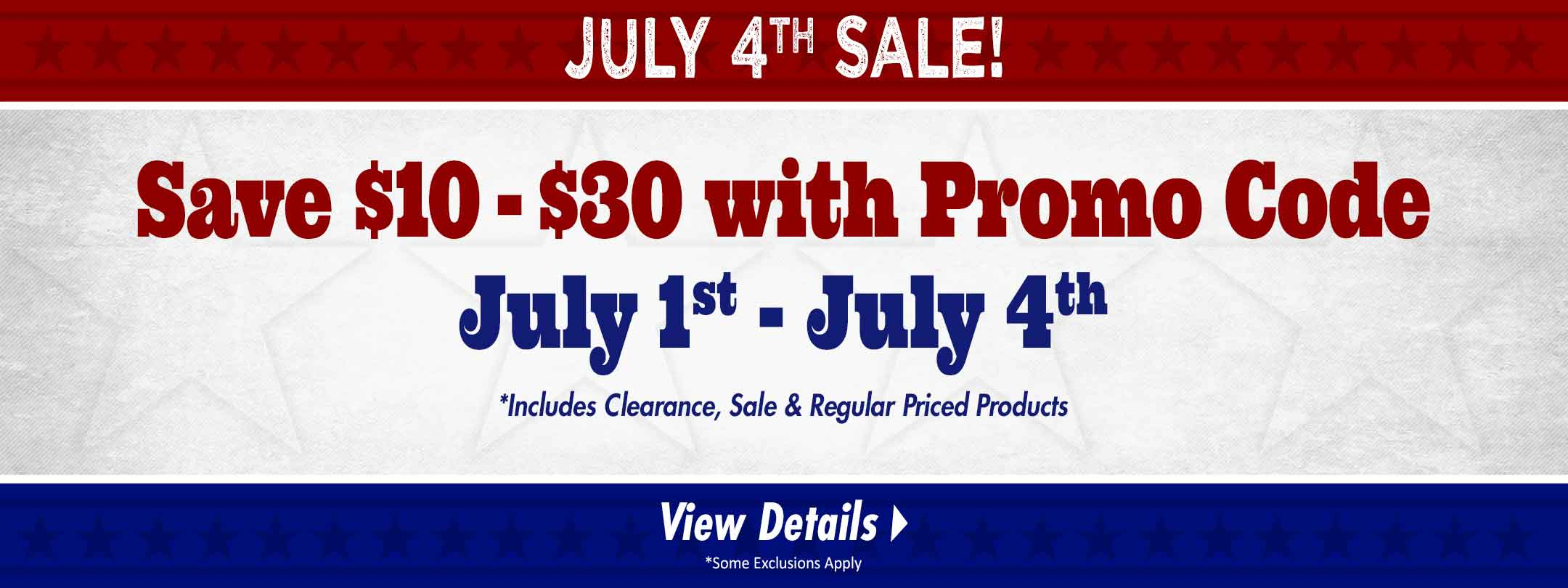 Pick Your Deal & Save $10 - $30!