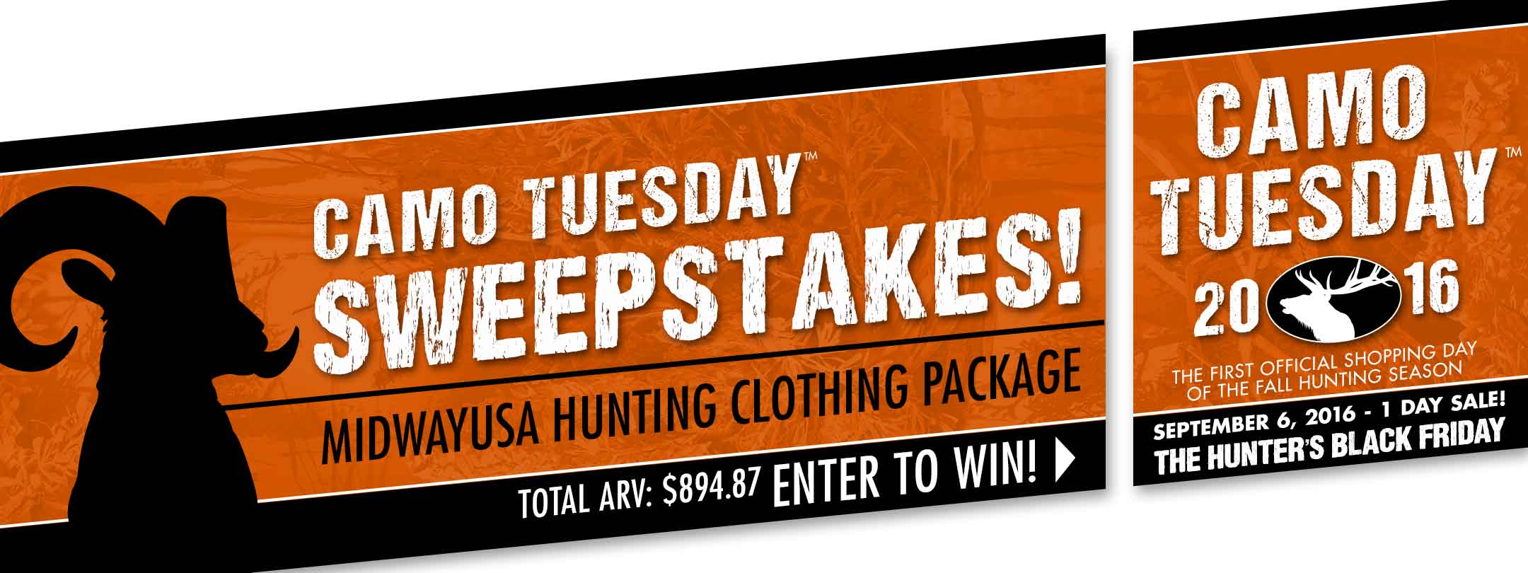 Camo Tuesday 1 Day Sale + Enter to Win!