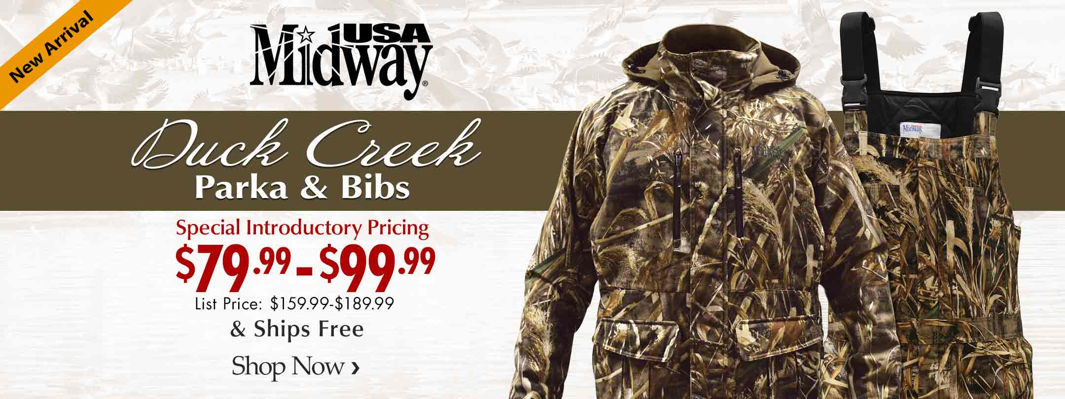 Introducing The MidwayUSA Duck Creek Line