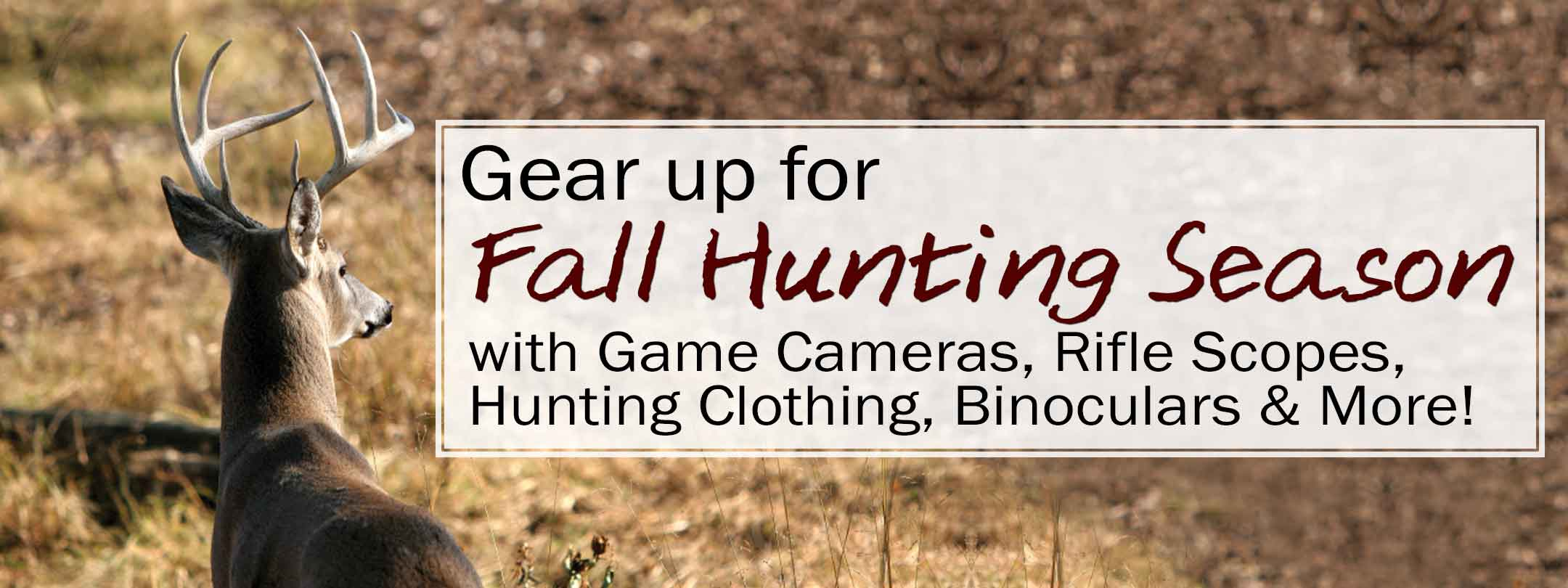 Big Game Hunting Essentials Sale