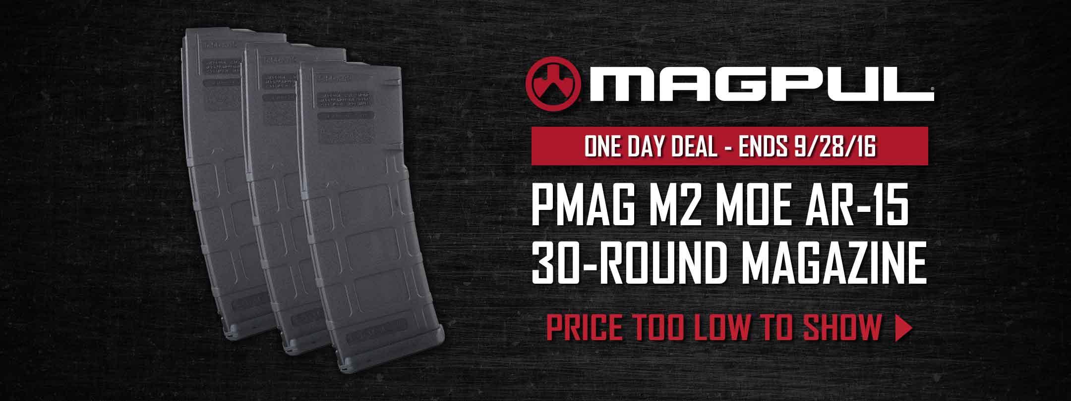 Magpul PMAG M2 MOE AR-15 30-Round Magazine